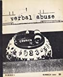 img - for Verbal Abuse, Number 1, Summer 1993 book / textbook / text book