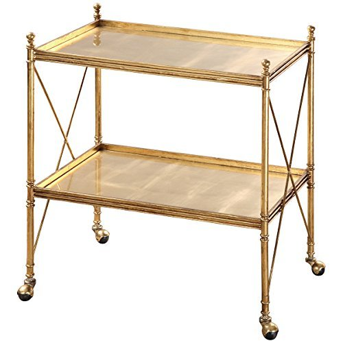 Uttermost 24464 Amaranto Serving Cart, Gold by Uttermost