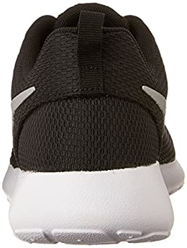 Nike Womens Roshe One Running Shoe Blackmetallic Platinumwhite (9) 1