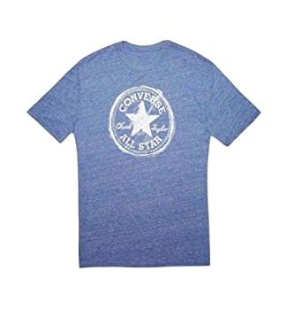 1ca71683ac7fc9 Converse Men s All Star T-Shirt White Blue 10005709-A01 102 (X
