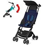 GB Pockit PLUS Stroller 2017 / multi-adjustable backrest / Light Traveler / from 6 Mo.-4Y. Sea Port, navy blau