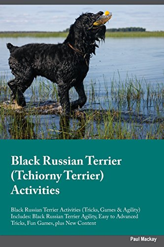Black Russian Terrier Tchiorny Terrier Activities Black Russian Terrier Activities (Tricks, Games & Agility) Includes: Black Russian Terrier Agility, ... Advanced Tricks, Fun Games, Plus New Content