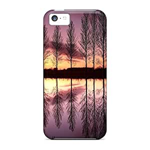 diy phone caseConnieJCole Case Cover For iphone 6 4.7 inch - Retailer Packaging Sunset On A Mirrored Lake Protective Casediy phone case