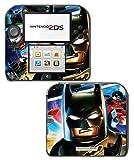 Batman Cartoon Robin Batmobile Begins Dark Knight Rises Game Vinyl Decal Skin Sticker Cover for Nintendo 2DS System