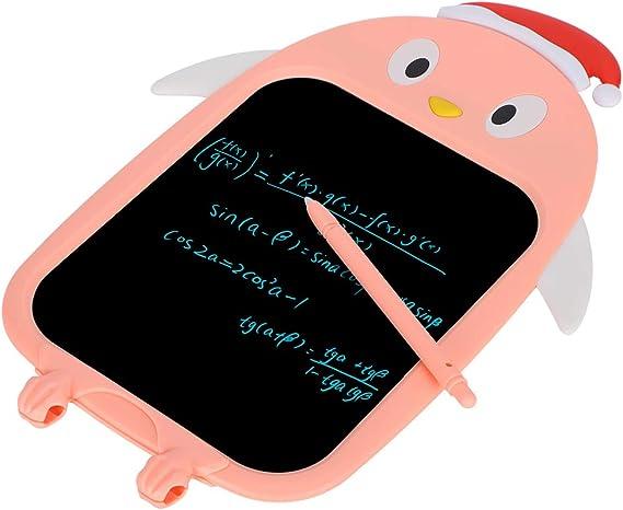 タッチ手書き、LCD手書きタブレット、ソフトラバー、ピンク、LCD手書きボード、家族教育向けキッズ、グラフィティドロー