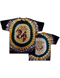 Bob Dylan New Deal Rock Band Tour Tie Dye T-Shirt-Small to 6X