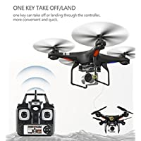 Nesee Wide Angle Lens HD Camera Quadcopter RC Drone WiFi FPV Live Helicopter Hover