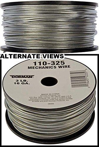 APDTY 221436 16 Gauge 3 Pound Spool Mechanics Wire