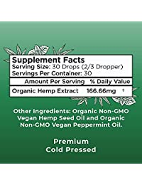 (2 Pack) Organic Pure Hemp Oil Extract 5000mg by MaryRuth's for Pain & Stress Relief -...