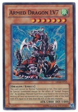 Yugioh Chazz Princeton Super Rare Card Armed Dragon Lv7 Dp2-en012 {Unlimited Edition} B003D9V4L4