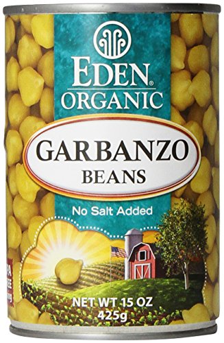 Curry Pea Chick - Eden Organic Garbanzo Beans, 15 Oz