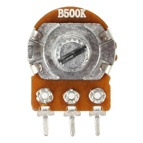 SODIAL 3590S-2-501L 500ohm Resistor Ohm Rotary Wire wound Precision Potentiometer Pot with 10 Turn Counting Dial Rotary Knob the scale knob set,blue R