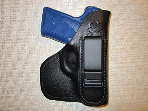 HOLSTERS BY BRAIDS Kimber Solo Carry 9mm, IWB & Pocket, Formed Leather Holster, Right Hand