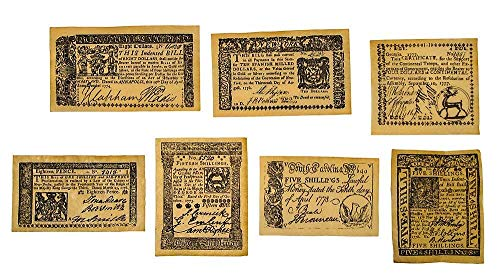 (Replica Colonial Currency Series A)