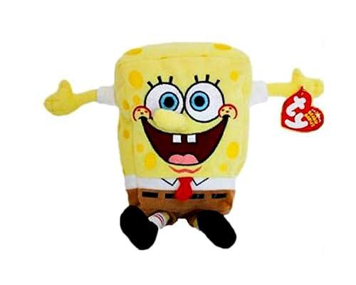 Peluche Bob Esponja câlin infantil Spongebob, altura: 20 cm