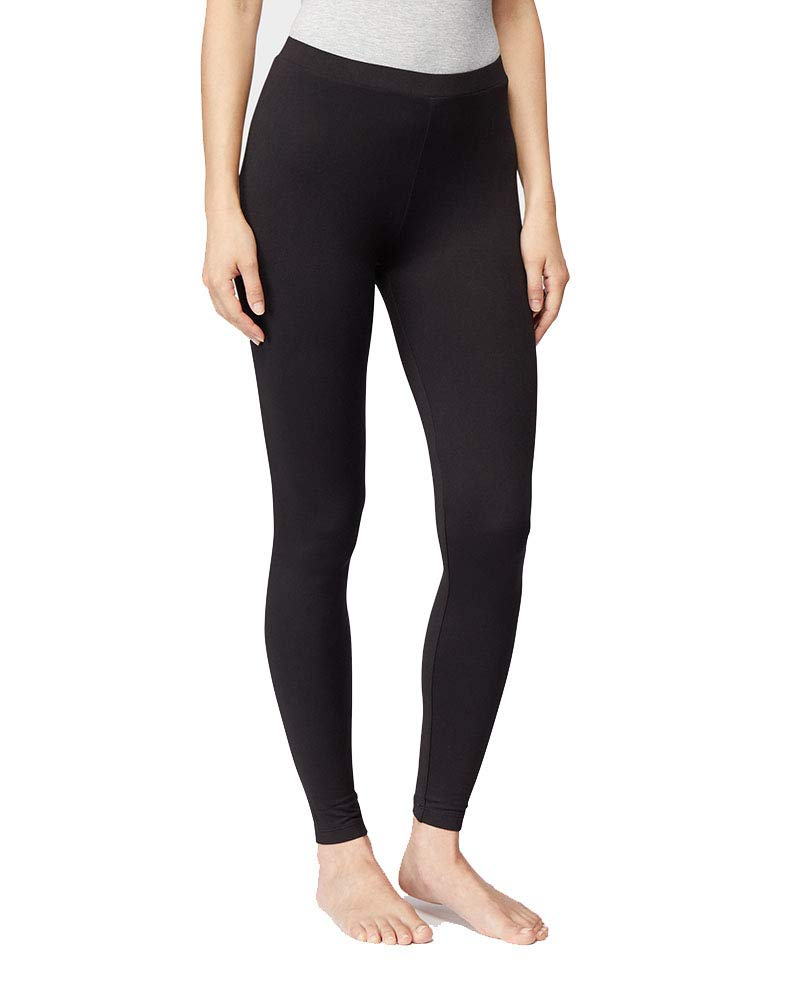 32 DEGREES Womens Lightweight Baselayer Legging, Black, Size XXLarge by 32 DEGREES