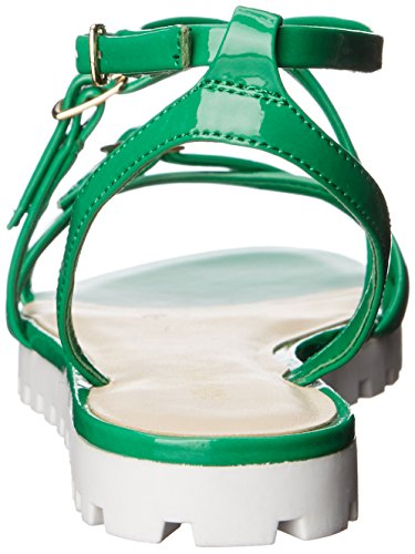Women's Sharri West Gladiator Nine Synthetic Sandal Green 7q1a4