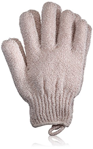 The Body Shop Exfoliating Bath Gloves, Taupe, 0.001 Ounce