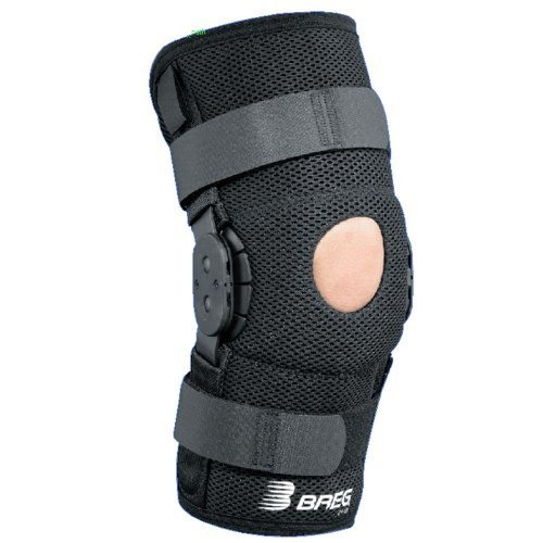Breg ShortRunner Knee Brace (Small - Neoprene - Wraparound - Open Back) by Breg (Image #4)