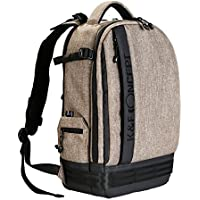 K&F Concept Professional Camera Backpack Large Size Photography Bag for Canon Nikon Sony DSLR, 13.3 Laptop,Tripod (Khaki)