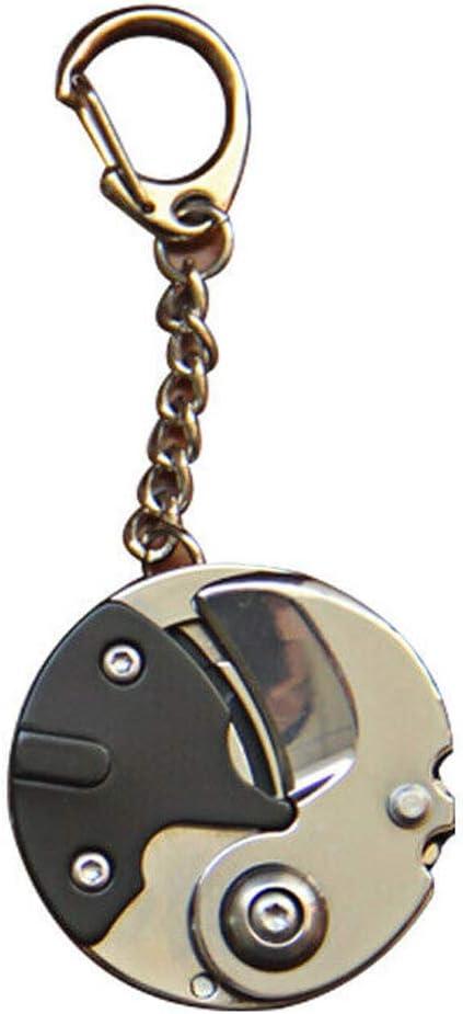 Multifunction Mini Folding Screwdriver Plier Coin Keychain Pocket Tools