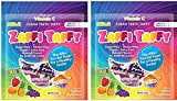 Zollipops Zaffi The Clean Teeth Taffy, Natural Fruit Variety, 3 Ounce (2-Pack)