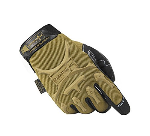 PANDA SUPERSTORE Cool Outdoor Sport Hunting Camping Climbing Gloves Brown, L