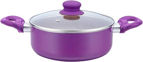 وعاء طهي من وندرشيف المنيوم فيلفت 4.5 لتر بنفسجي وأسود