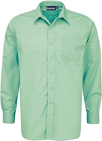 Camiseta de manga larga tradicional uniforme escolar, color ...