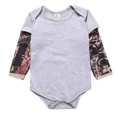 Baby Tattoo Costume - Goodplayer Toddler Baby Boy Girl Bodysuit