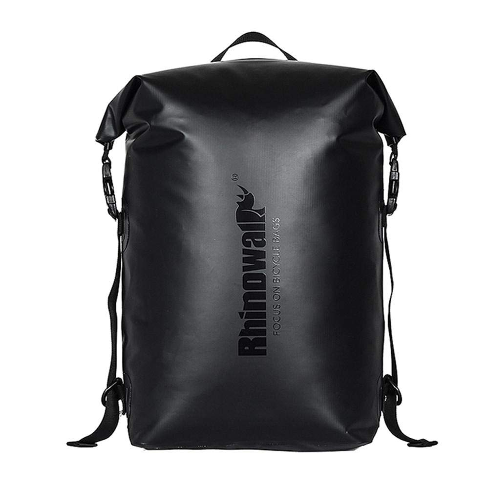 20L Large Capacity Multifunctional Waterproof Bicycle Front Bag Backpack Saddle Bag 10 x 6 x 18in AMAKER