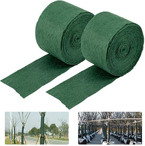 ANPHSIN 2 Pack Tree Protector Wraps, 65 Foot Winter-Proof Tree Trunk Guard Shrub Plants Antifreeze Bandage Protector Wrap for Keep Warm and Moisturizing