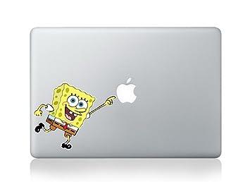 Amazoncom Spongebob Squarepants Cartoon Character Decal Sticker - Spongebob macbook decal