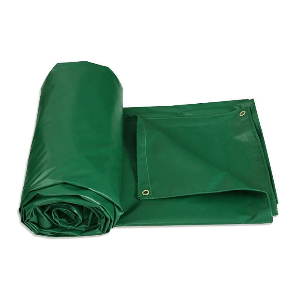 緑の産業ポリエステルポリ塩化ビニールの両面の防水防水シートの世帯の陰の布。 (サイズ さいず : 3*3m) B07RH6DRD8  3*3m