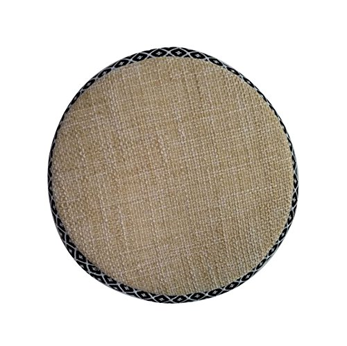 Soft Round Stool Cover Stool Cushion Bar Stool Mat Seat Pad by Black Temptation