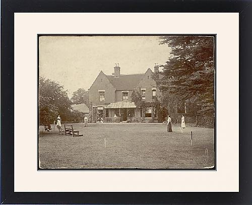 Framed Print Of Borley Rectory 1890S by Prints Prints Prints