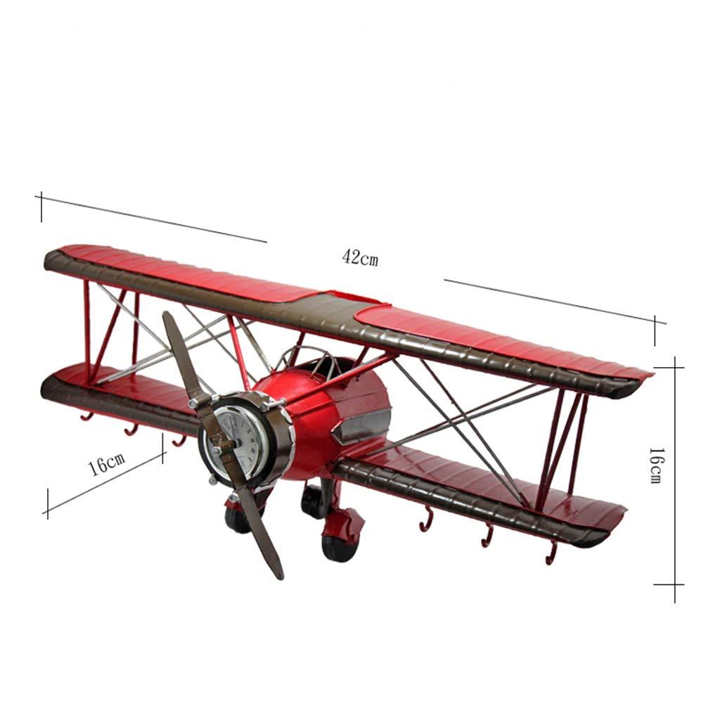 Ganchos para colgadores Retro modelo de avión gancho ...