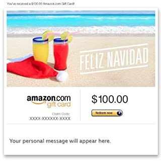 Amazon Gift Card - Email - Feliz Navidad (Beach Holiday) (B00G4IUOE4) | Amazon price tracker / tracking, Amazon price history charts, Amazon price watches, Amazon price drop alerts