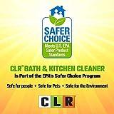 CLR Bath and Kitchen Cleaner, Fresh Scent, spray