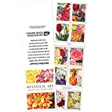 20 Botanical Art USPS Forever First Class Postage Stamps Beautiful Flower Bloom