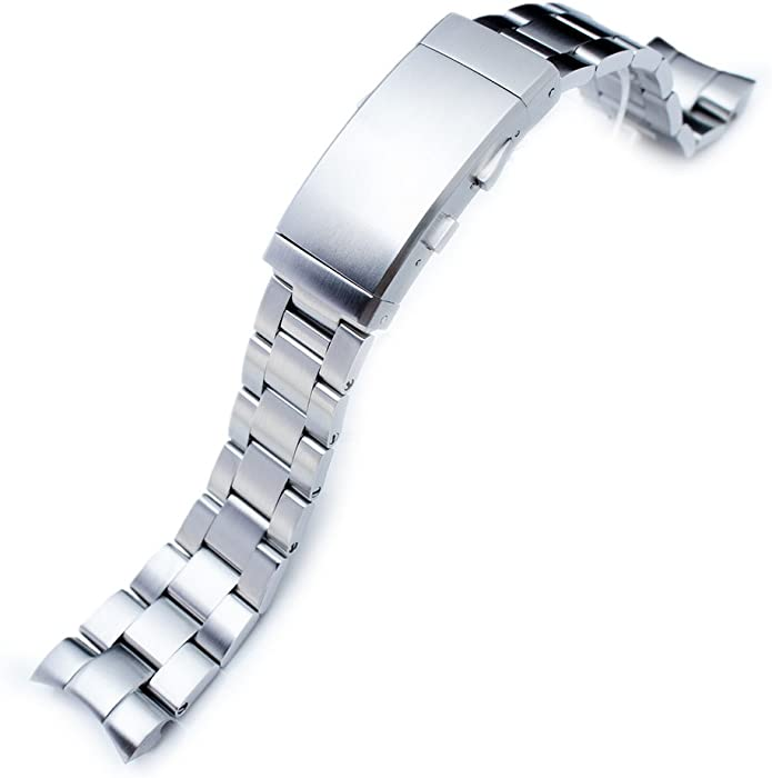 9f2dc86ae2e 22mm Super Oyster 316L Stainless Steel Watch Band for Orient Mako II   Ray  II