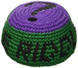Batman The Riddler Embroidered Crocheted Footbag