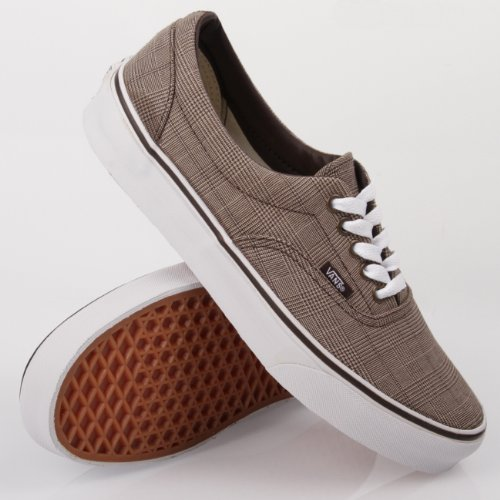 Vans Era (plaid Scilla) Marron / Vrai Blanc