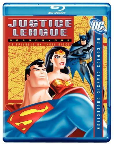Justice League: Season 1 [Blu-ray] Carl Lumbly George Newbern Phil Lamarr Gardner Fox