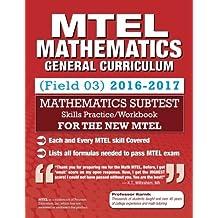 MTEL Mathematics: Skills Practice, General Curriculum (03) Subtest