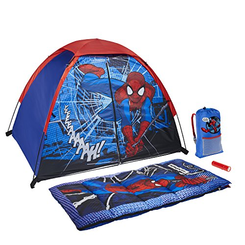 (Exxel Outdoors Marvel Spiderman Kids 4-Piece Sling Kit)