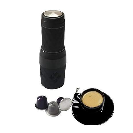Cvthfyk Máquina de café con cápsula Máquina de café portátil con Mini Mano (Color :