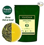 VAHDAM, Green Tea Leaves from Himalayas (50 Cups), 100% Natural Tea,...
