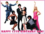 "Single Source Party Supply - High School Musical Edible Icing Image #7-8.0"" x 10.5"""