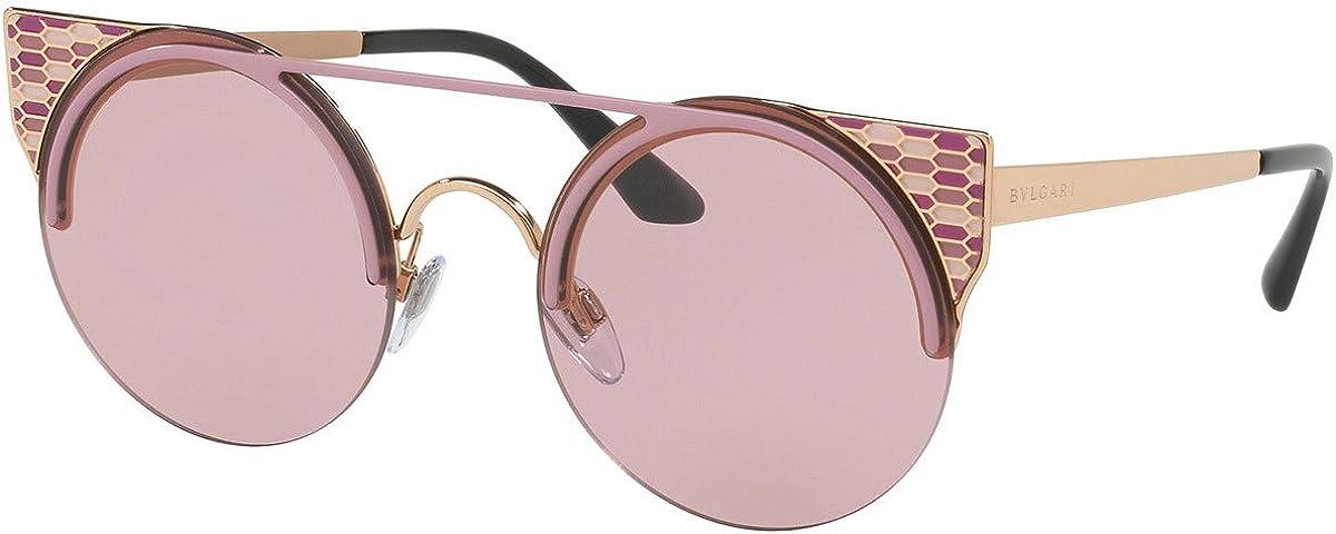 Bulgari BV6088 gafas de sol w/lente de 54 mm 203890 Rosa BV 6088 mujer Violeta pálido Oro Grande: Amazon.es: Ropa y accesorios